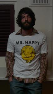 Ray LaMontagne is Mr. Happy