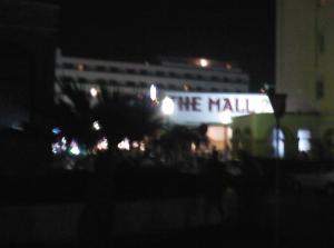 The Mall 2 (helaas is de 2 nogal onscherp)